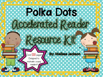 Polka Dot-Themed Accelerated Reader Resource Kit