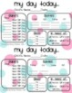 Polka Dot Themed Childcare Daily Reports  (Daycare)