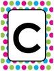 Polka Dot Themed Classroom Decor