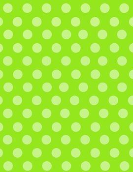 Polka Dot-Themed Digital Papers