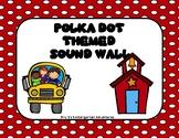 Polka Dot Themed  Sound Wall