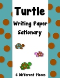 Polka Dot Turtle Writing Paper    -   6 Pieces