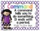 Polka Dot Types of Sentences Posters