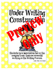 Polka Dot 'Under Writing Construction' Posters