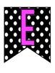 Polka Dot WELCOME Banner-FREEBIE