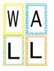 Polka Dot Word Wall Banner
