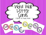 Polka Dot Word Wall  Letter Printable