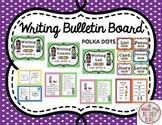 Polka Dot Writing Bulletin Board