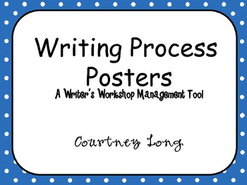 Polka Dot Writing Posters and Management with Picture Clues