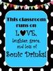Polka Dot and Bunting Classroom Quotes