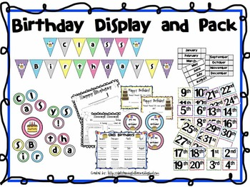 Birthday Display and Pack