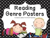 Polka Dot and Kids Reading Genre posters