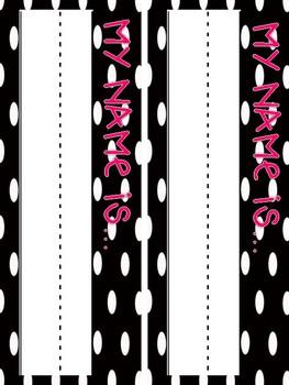 Polka Dot and Neon Decor Bundle