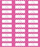 Polka Dot and Stripes Editable Labels THREE SIZES!  (Avery 8160, 8163, 15264))