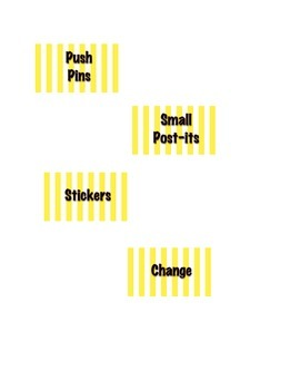 Polka Dot and Stripes Teacher Toolbox Template