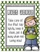 Polka Dot iPad Rules Posters