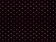 Polka Dot with black Backgrounds