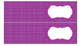 Polka Dots Labels for 10-Drawer Organizer (Purple and Black)
