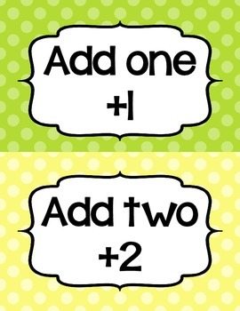 Addition Fluency Clip Chart- Polka Dots- Supports Common Core Fluency Standards!