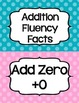 Addition Fluency Clip Chart- Polka Dots- Supports Common C