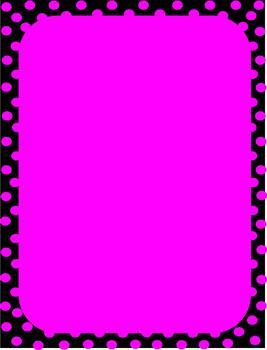 Polka Dots Borders