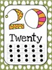 Polka Dots & Chevron Numbers 0-20
