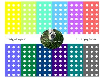 Polka Dots Digital Paper