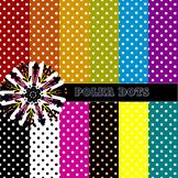 #fooledyou Polka Dots Digital Papers