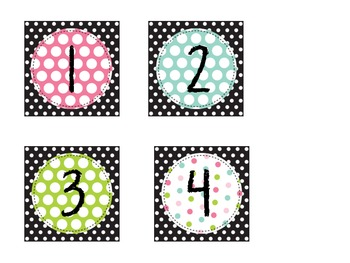 Polka Dots Galore Classroom Theme