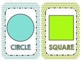 Polka Dots Galore Shape Wall Cards
