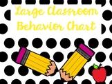Polka Dots: Large Classroom Behavior Chart