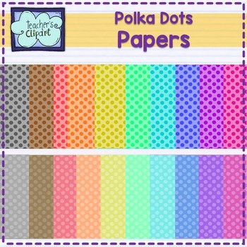 Polka Dots Papers