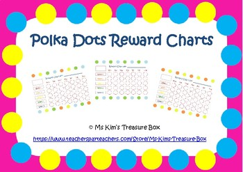 Polka Dots Reward Chart