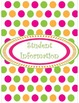 Polka Dots Teacher Binder