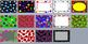 Polka Dots and Circles Borders and Background graphics - Commercial Use