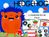 Polka Dots and Hedgehogs-Name Plates, Labels
