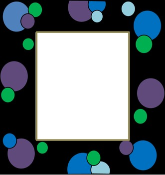 Polka Dots and Spots Borders and Frames