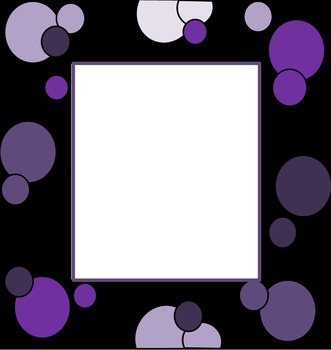 Polka Dots and Spots Borders and Frames