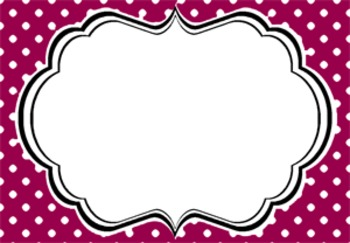 Polka Dotty Tags-60 Polka Dot Tags