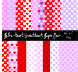 Polka Heart Sweetheart Paper Pack