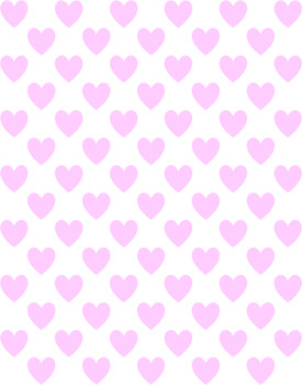 Polka Heart Sweetheart Paper Pack