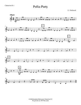 Polka Party – Very Easy Beginning Band arrangement