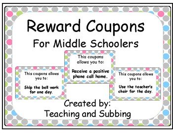 Polka dot Middle School Coupons