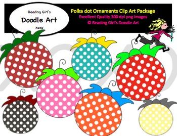 Polka dot Ornaments