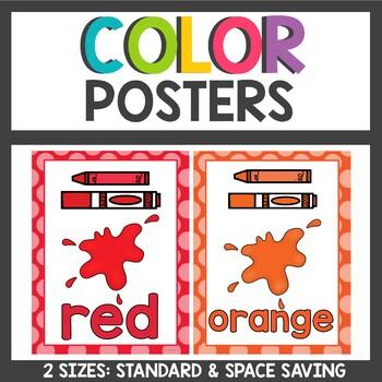 Color Posters Polka dot themed