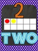 Polka dot ten frames