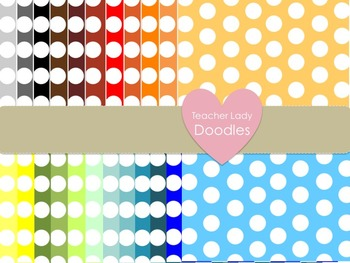 PolkaDot Paper Pack