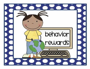 Polkadot punch cards and behavior rewards