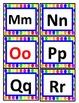 Polkadot word wall alphabet (small)