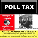Poll Tax Differentiated Reading Comprehension Passage January 23